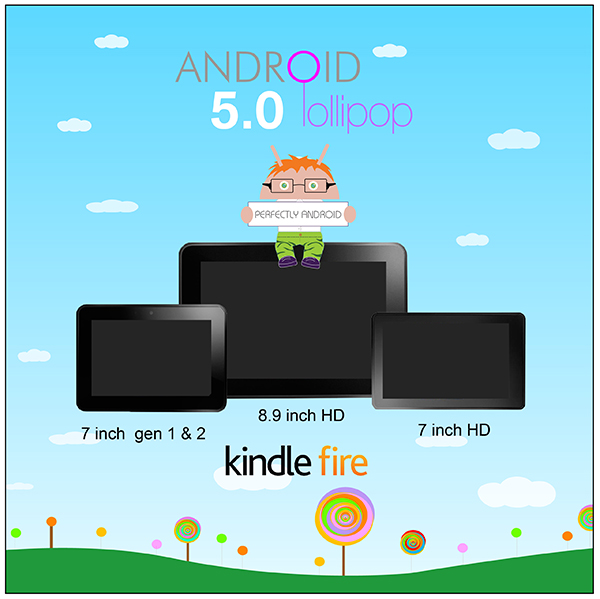 Android Lollipop installer for Kindle Fire