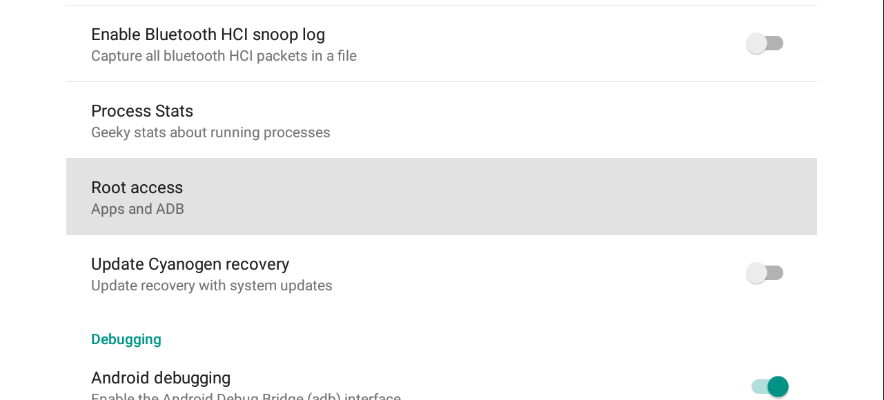 Enabling Root access in Lollipop - Perfectly Android