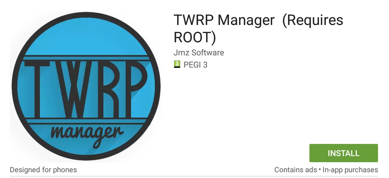 Installing / Updating TWRP on your Perfectly Android